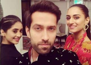 Nakuul Mehta, Erica Fernandes and Shivangi Joshi pose for a goofy selfie as they announce their new show - view pic