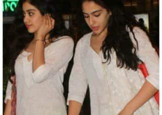 When the paparazzi mistook Janhvi Kapoor for Sara Ali Khan! — watch video