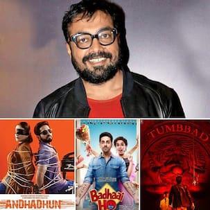 Badhaai Ho, AndhaDhun and Tumbbad among films that left Anurag Kashyap jealous - read tweet