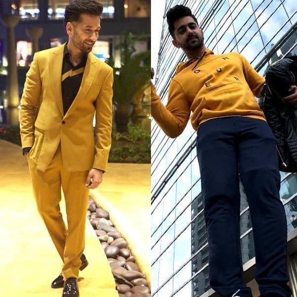 Nakuul Mehta, Priyank Sharma, Zain Imam make mustard the new black - v...