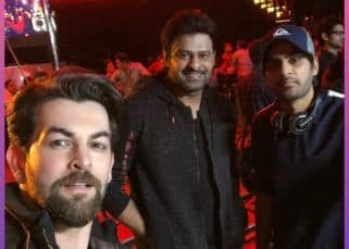 Neil Nitin Mukesh had a 'fab day' with Baahubali actor Prabhas on the sets of Saaho - view pics