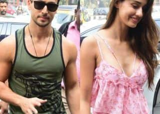 Lovebirds Tiger Shroff and Disha Patani spotted after a lunch date in town - view HQ pics
