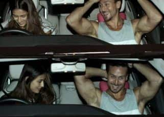 [IN PICS] Disha Patani takes the driver seat on her date night with rumoured boyfriend Tiger Shroff