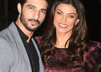 Rohman Shawl can't stop 'falling in love' with Sushmita Sen after seeing her latest picture and we totally see why - view pic