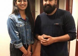 After Ranveer Singh and Vicky Kaushal, wink sensation Priya Varrier shares a fangirl moment with superstar Mohanlal - view pic