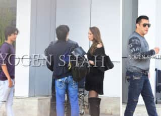Salman Khan, Iulia Vantur and nephew Arhaan Khan are back in town after their New Year vacation - view pic!