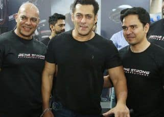 In Pics: Salman Khan makes a surprise visit to Mumbai Marathon Expo and then this happens...