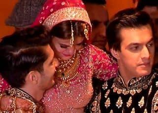 [PICS & VIDEOS] Mohsin Khan's sister Zeba's reception was a starry affair