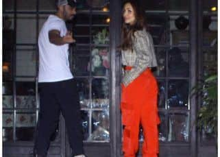 It's a date night! Lovebirds Arjun Kapoor and Malaika Arora step out for dinner in the city- view HQ pics