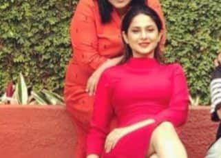 Jennifer Winget dazzles in red in a poolside picture along with her 'dream team' – view pic