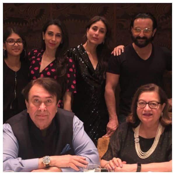 Kareena Kapoor, Karisma Kapoor, Saif Ali Khan and others make Randhir ...