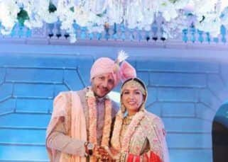 Neeti Mohan shares the FIRST PICTURE from her wedding with Nihaar Pandya