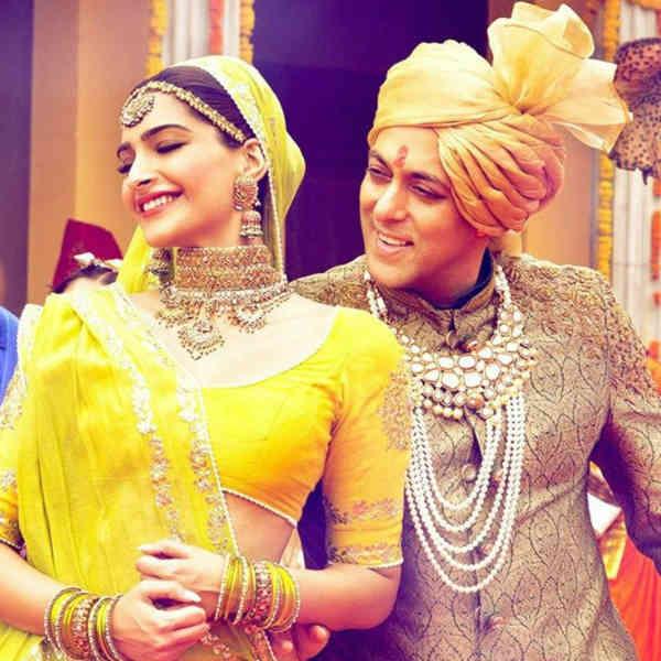 Salman Khan and Sonam Kapoor -  Prem Ratan Dhan Payo