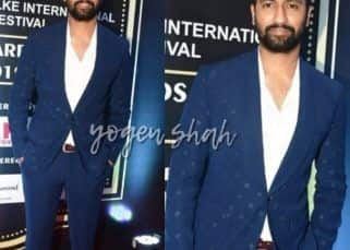 Dadasaheb Phalke International Film Festival 2019: Uri star Vicky Kaushal makes a dashing entry
