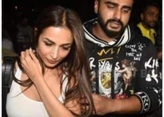 Arjun Kapoor tries to protect his ladylove Malaika Arora and THIS happens - watch HD video