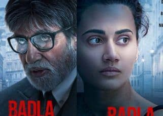 Badla Posters Out! Amitabh Bachchan and Taapsee Pannu's look has left us intrigued - view pics