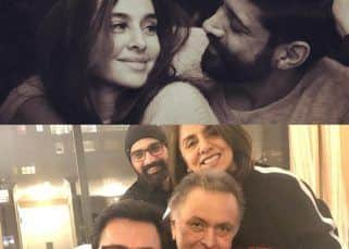 Pics of Farhan-Shibani celebrating one year of togetherness and Aamir Khan visiting New York to meet Rishi Kapoor went viral this week