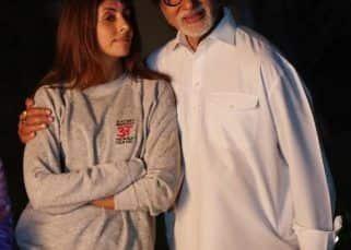 After Abhishek Bachchan, Shweta Bachchan celebrates #50YearsofAmitabhBachchan by THIS iconic gesture – view pics