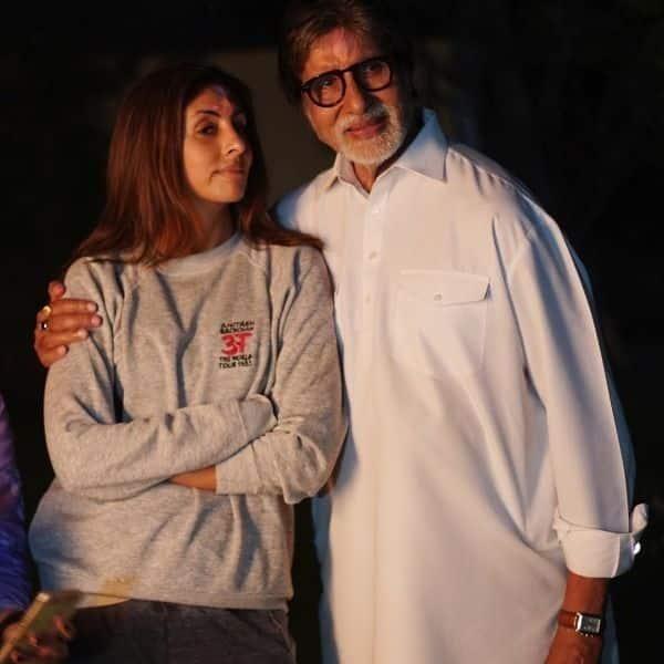 After Abhishek Bachchan, Shweta Bachchan celebrates #50YearsofAmitabhB...