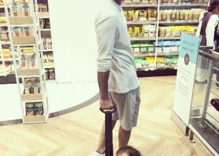Mira Rajput shares a picture of Shahid Kapoor and Misha doing grocery shopping together and it's adorable