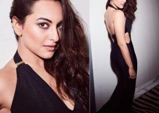 Bewitching in black! Blame Sonakshi Sinha for the rise in the temperature today - view pics