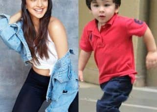 'Keeping up with Tim Tim' Kiara Advani loses a race to Taimur on the sets of Good News - watch adorable video
