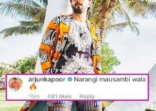 'Narangi Mausambi Wala,' Arjun Kapoor's comment on Ranveer Singh's picture has left the internet in splits