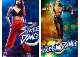 Street Dancer FIRST POSTERS OUT! Varun Dhawan and Shraddha Kapoor are funky and cool