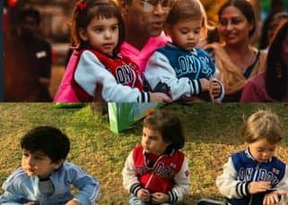 [Inside pics and video] When Taimur and other kids joined the fun London themed birthday party thrown by Karan Johar for Yash and Roohi