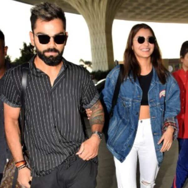 Anushka Sharma Accompanies Hubby Virat Kohli As They Jet Off