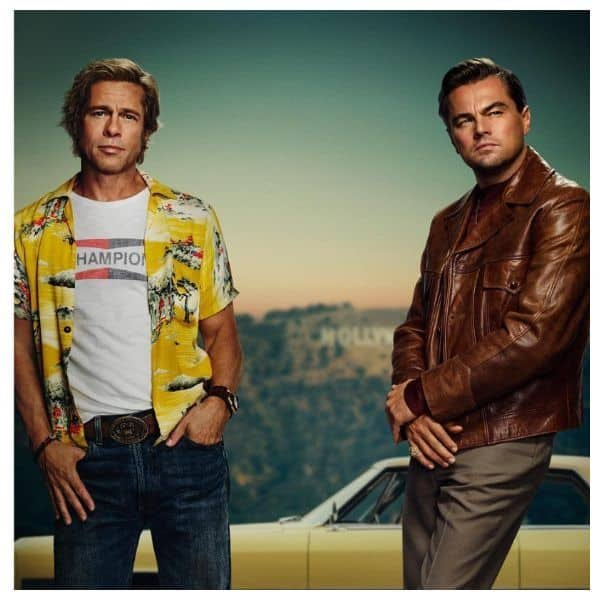 Brad Pitt and Leonardo DiCaprio looks smoking hot in new Once Upon A T...