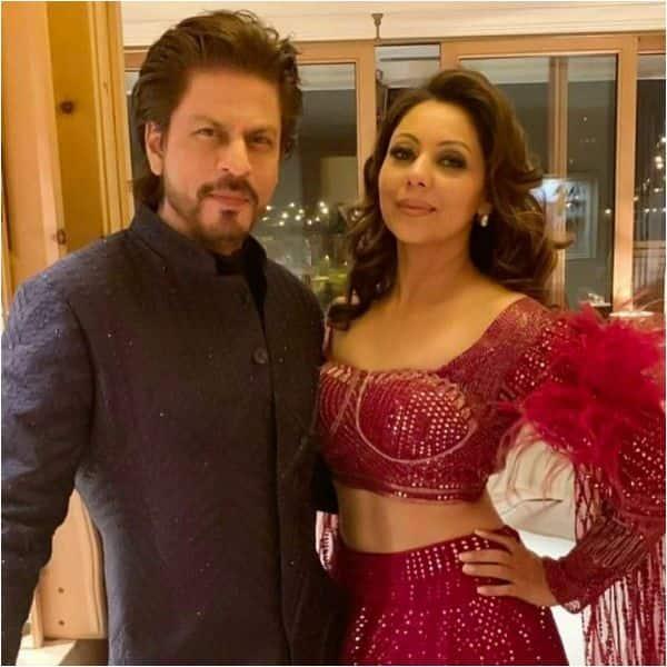 Shah Rukh Khan and Gauri Khan