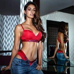 Disha Patani's red hot lingerie will add up to the scorching heat - vi...
