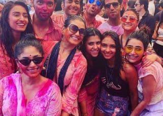 Ekta Kapoor's Holi party: Erica Fernandes, Parth Samthaan, Karishma Tanna get 'Hollieeed' together - view pics