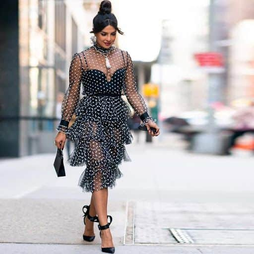 Guess The Price! The cost of Priyanka Chopra Jonas' black ruffle dress will amaze you!