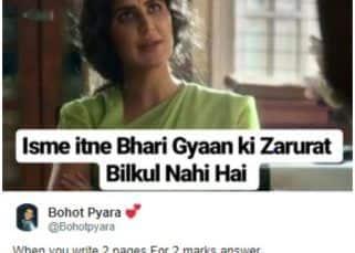 Twitter triggers Bharat trailer memes with Katrina Kaif's dialogue 'itne bhari gyan ki zarurat nahi hai'