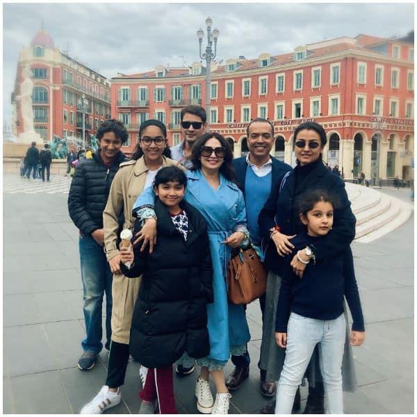Mahesh Babu and Namrata Shirodkar's family trip to Paris is