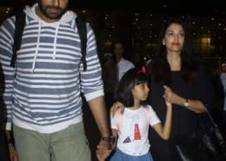Abhishek Bachchan is back in the bay with Aishwarya and Aaradhya after a relaxing Maldives vacay