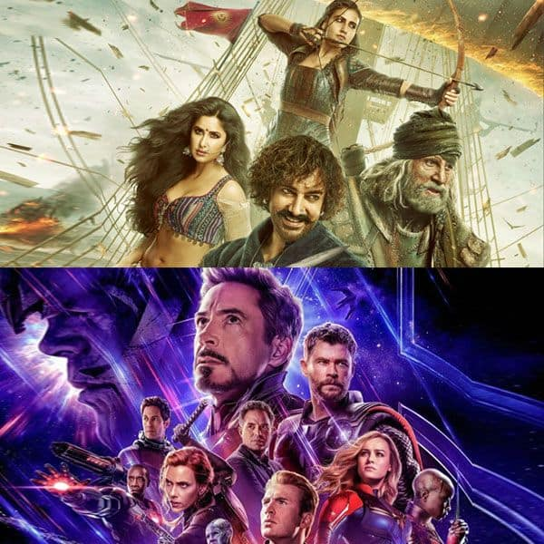 Avengers Endgame CRUSHES Aamir Khan's Thugs of Hindostan to register the highest occupancy of all-time