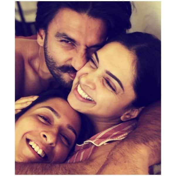 Deepika Padukone is 'sandwiched' between hubby Ranveer Singh- sister A...