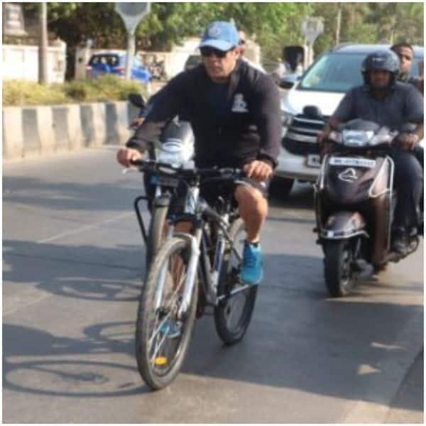e1bb948d4 Salman Khan cycling on the streets of Mumbai reminds us of his 'Maine Pyaar  Kiya' days - view pics