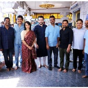 Akhil Akkineni's next with Bommarillu director Bhaskar goes on floors – view pics