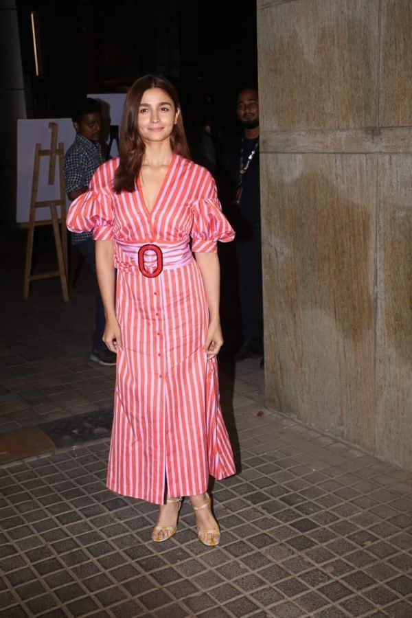 Alia Bhatt | India's Most Wanted screening