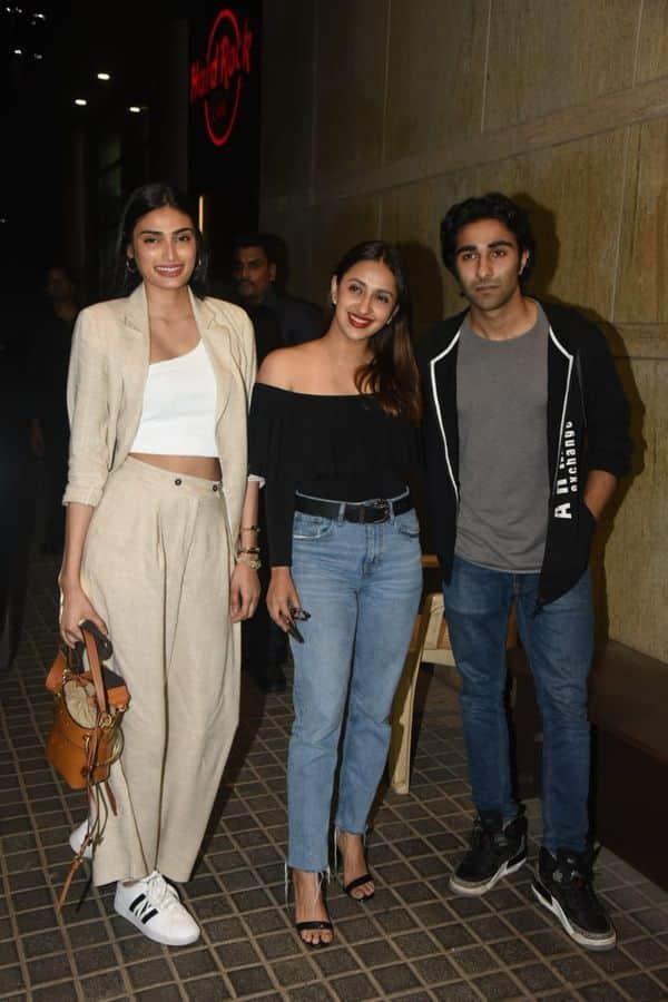 Athiya Shetty | Akanksha Ranjan Kapoor | Aadar Jain | India's Most Wanted screening