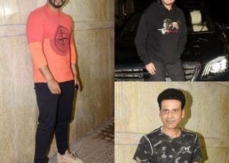 India's Most Wanted: Anil Kapoor, Manoj Bajpayee and Rajkummar Rao attend Arjun Kapoor-starrer's special screening