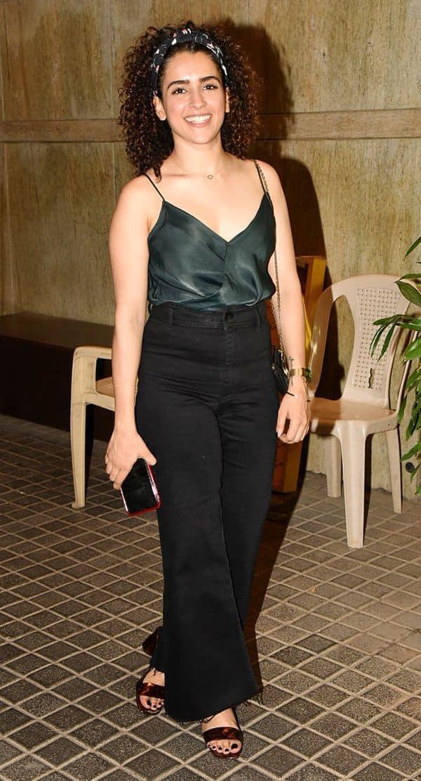 Sanya Malhotra   India's Most Wanted screening