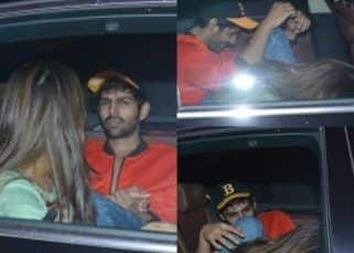 Sara Ali Khan and Kartik Aryan are back to holding hands, laughing and cosying with each other! View HQ pics
