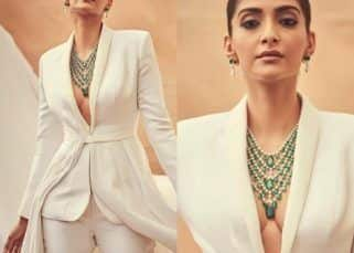 Cannes 2019: 'The French Riviera suits me,' says Sonam Kapoor as she stuns in a custom-made white tuxedo – view pics