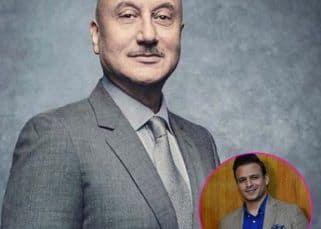 Anupam Kher SLAMS Vivek Oberoi for sharing a meme about Aishwarya Rai Bachchan's personal life - watch video