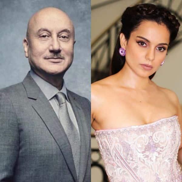 Anupam Kher praises Kangana Ranaut, calls her his favourite